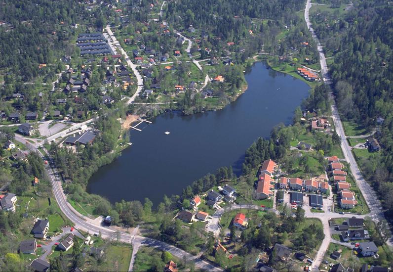 Flygbild Bagarsjön