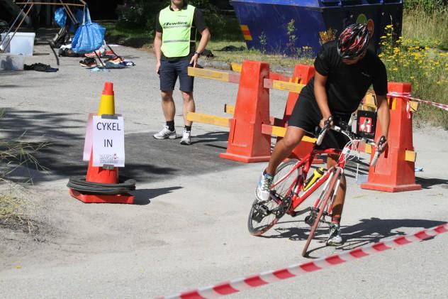 INte cykla i växlingsområdet