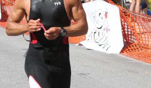 Förste svensk, Daniel Lavén. Dagens snabbaste svensk var trean Daniel Lavén på tiden 1:04:03, endast tre sekunder efter Luca. Grattis!