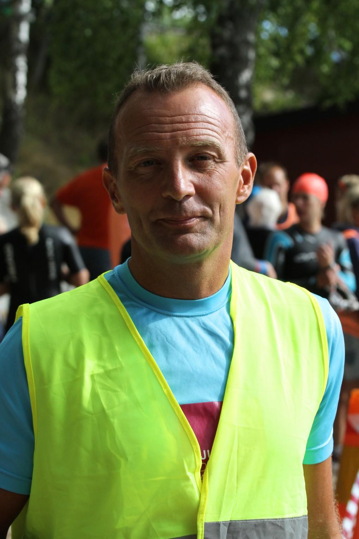 Race director P. Ageman