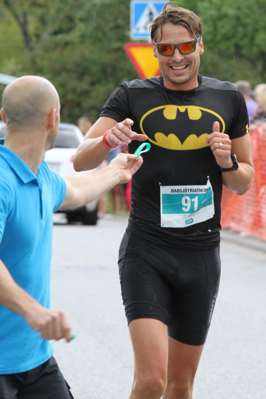 Batman Fredrik ut på sista varvet.